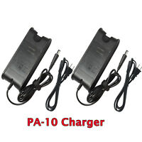 Lot of 2 Charger Power Supply For Dell PA10 PA-10 Family PA-1900-02D 90W Adapter