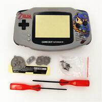 Zelda Link Arche Grey Shell Case Housing for Nintendo Game Boy Advance GBA
