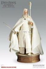 Rare Sideshow -  Lord of the Rings - Gandalf the White PF EXC 71951 NEW SEALED
