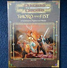 Sword & puño una guía a los combatientes & monjes Dungeons & Dragons D&D RPG D20 WOTC