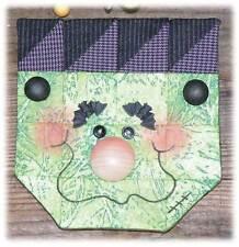 Happy Hollow Designs Fall Quilt Pattern-Expresso Halloween FRANKENSTEIN kit