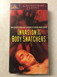 Invasion of the Body Snatchers (VHS, 1978, Contemporary Classics)