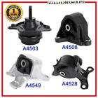 New Engine Motor And Transmission Mounts For Acura Rsx 2002-2006 2.0l Set Of 4pc
