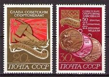 STAMPS RUSSIA SPORT OLYMPIC GAMES Sc # 4026-4027 Munich 1972 MNH