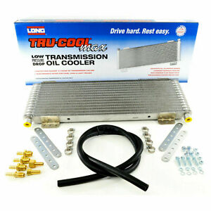 Tru-Cool Max 40,000 GVW  Transmission Oil Cooler Low Pressure Drop