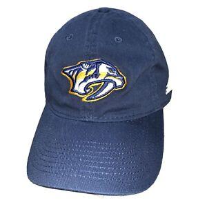 Nashville Predators Hat Cap Fan NHL Hockey Sabre Tooth Tiger Logo Adidas OSFA