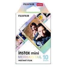 Fuji INSTAX mini MERMAID TAIL  Instant Film - Dated 10/2021