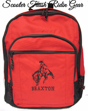 Personalized Saddle Bronc Rider backpack school book bag NEW rodeo horse