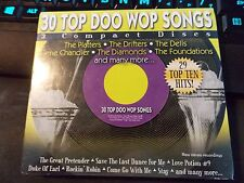30 Top Doo Wop Songs by Various Artists, 3 CD Set (2006 Direct Source) Factory S