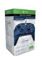 Xbox One Wired Controller - PowerA Stealth Blue Camo