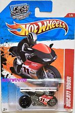 HOT WHEELS 2013 THRILL RACER DUCATI 1098R W+