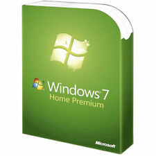 Microsoft Windows 7 Home Premium 32 Bit OEM DVD  CD + COA Product Key Schlüssel