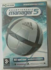 69633 - Championship Manager 5 [NEW / SEALED / DUTCH] - PC (2005) Windows XP