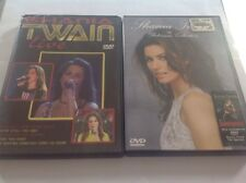 Two Shania Twain DVD's - Live and The Platinum Collection