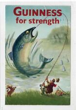GUINESS FOR STRENGTH: Advertising postcard (C30116)