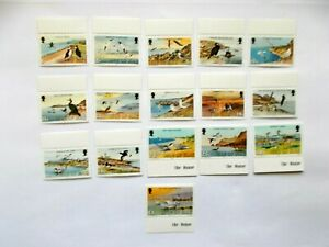 GB ISLE OF MAN 1983 Seabirds 16 stamps to £1 Mute Swans U/M Sg232/47