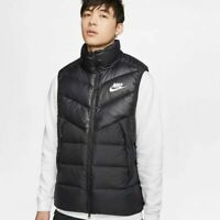 Nike Sportswear NSW Down Fill Windrunner Mens Vest Gilet Black