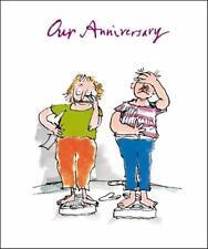Quentin Blake nuestro aniversario rango de las tarjetas de saludos popular tarjeta de felicitación