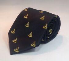 Past Master NO Square Woven Necktie - Black (PMNS-NT-B)