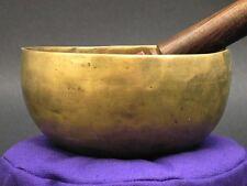 "Hand Hammered Tibetan Singing Bowl 5"""