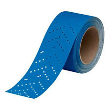 3M Hookit Blue Abrasive Multi-Hole Sheet Roll 220 Grit 2-3/4 x 13 yard - 36192