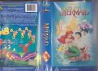 WALT DISNEYS THE LITTLE MERMAID  BLACK DIAMOND  VHS PAL VHS A RARE ~