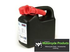 MOTORCYCLE PANNIER FUEL CAN 3 LTR C/W NOZZLE SCOOTER MOTORBIKE PETROL CAN