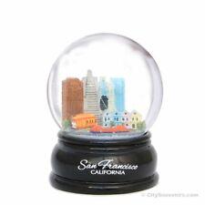 San Francisco Landmark Skyline Snow Globe, California Souvenir Gift Snow Globes