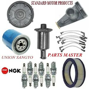 Tune Up Kit Filters Cap Spark Plugs Wire For FORD GRANADA L6 4.1L;1bbl 1977-1980