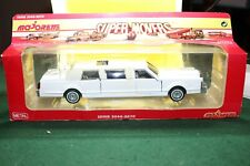 Majorette 1.32 Limousine in White - Sealed in plastic pack