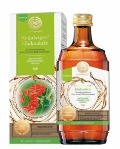 Regulatpro Glukoaktiv 350ml enthält 85% Regulatessenz - Dr. Niedermaier