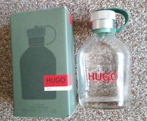 Hugo boss MAN. Aftershave bottle150ml EMPTY with original box