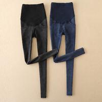 Pregnant Women Straight Elastic Maternity Jeans Trousers Pregnancy Denim Pants