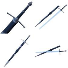 Medieval Crusader Sword With Scabbard - Choose Your Style