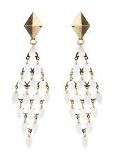 Chandelier Oval Costume Earrings