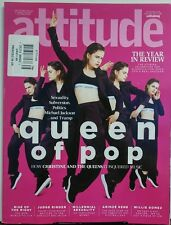 Attitude UK January 2017 Queen of Pop The Year in Review Gay FREE SHIPPING sb