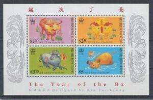 Hongkong  Block 45  Jahr des Ochsen   ** (mnh)