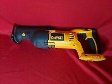DEWALT DC385 18V Cordless Reciprocating Saw