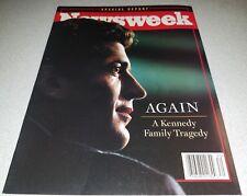 JFK JR DEATH JULY 26, 1999 NEWSWEEK MAGAZINE JOHN F. KENNEDY JR SPECIAL EDITION
