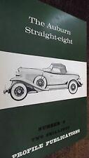 PROFILE PUBLICATIONS CAR #9: THE AUBURN STRAIGHT-EIGHT (1966)