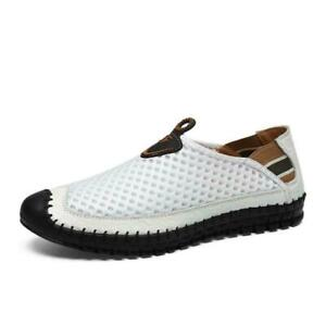 Men's Slip On Boat Moccasin Loafers Driving Elastic Sandals Breathable Shoes US
