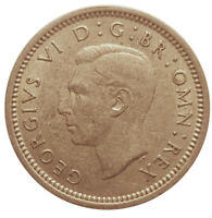 1941 SILVER COIN - THREEPENCE - George VI. - 1941     #OKTE12
