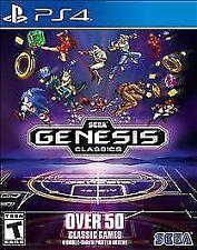 Sega Genesis Classics (Sony PlayStation 4, 2018)