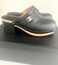 CHANEL CLOGS  *BNIB 37  BLACK