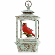 Christmas Cardinal 2015 Hallmark Ornament Joy to the World  Lantern  Bird  Music