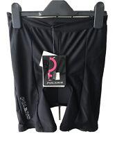 Polaris Black Padded Cycling Shorts Women Size 14