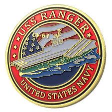 U.S. Navy USS Ranger / CV-61 GP Challenge Coin 1131#