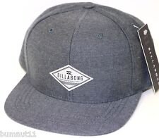 Authentic Men's BILLABONG Oxford Snap Back Cap. One Size. NWT. RRP $29.99.