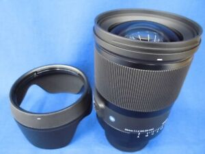 SIGMA Single Focus Lens 35mm F1.2 DG DN   Art A019 Leica L-Mount Mirrorless Only
