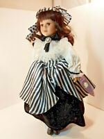 "Southern Belles COLLECTION Rachel Dolls Collectible 18"" Porcelain VINTAGE DT7"